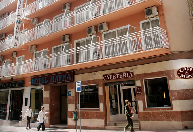 A central Hotel in Benidorm